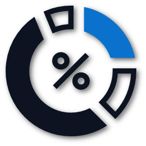 pie-chart home icon